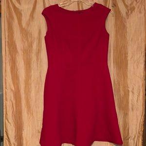 Red Chaps sleeveless dress